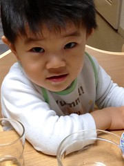 朝御飯食べ終わってドヤ顔 (2012/11/27)