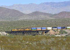 Union Pacific Crossing Treastle