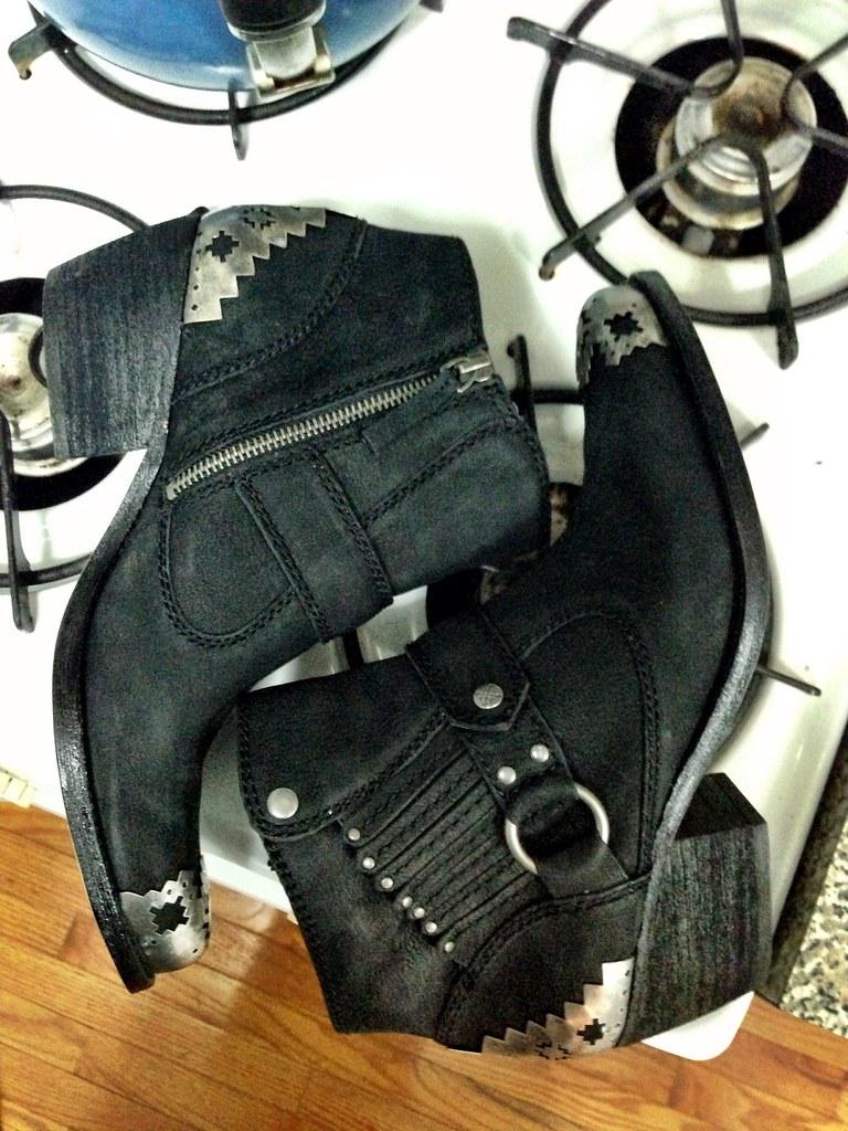 pamela love x nine west boots