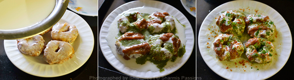 Dahi Vada Chaat Recipe - Step3