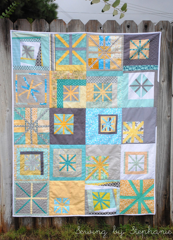 August Believe at do. Good Stitches Quilt