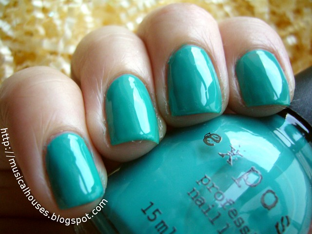 exposed nail polish aqua baby topcoat