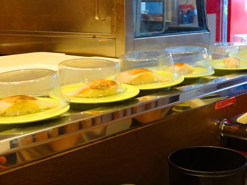 台湾式回転寿司:Taiwan style conveyor belt sushi