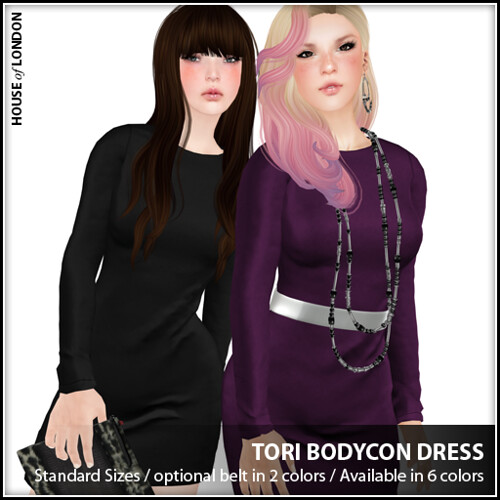 ad - Tori Bodycon Dress