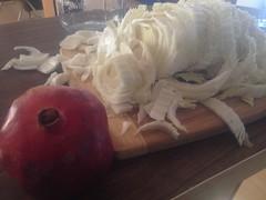 Pomegranate Sauerkraut - Pom Kraut by mikeysklar