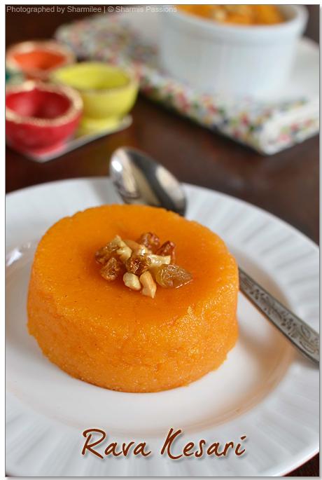 Rava Kesari Sweet