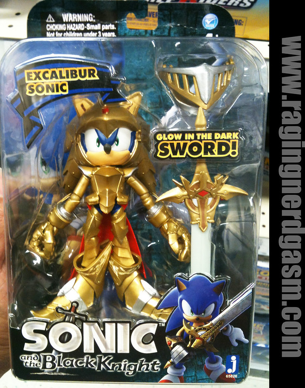 Sonic and the Black Knight Figures Sonic Excalibur Sonic by Jazwares016