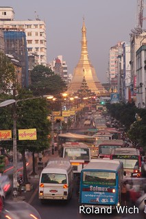 Yangon - Evening Traffic