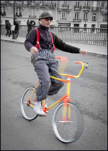 fietskunstenaar by hans van egdom