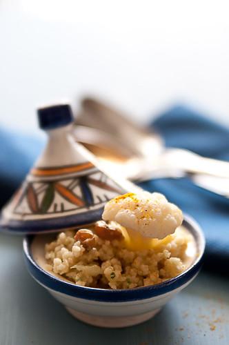 Cuscus con cavolfiore e curry
