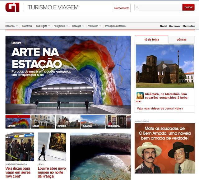 Globo.com - Turo e seu momento global