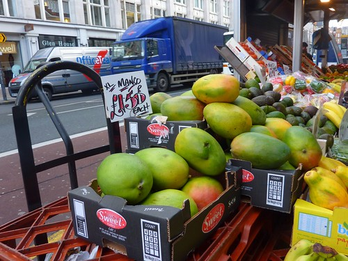 London street : fruit stand width=