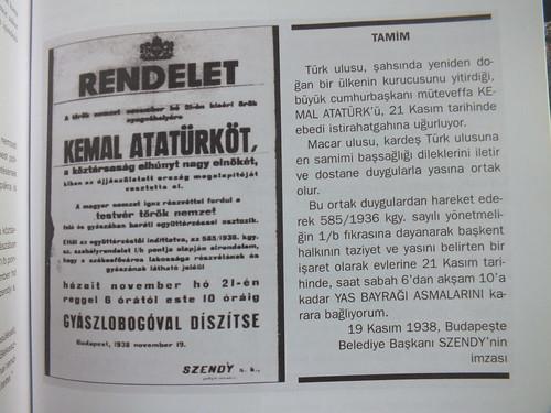 Atatürk gyázsjelentés - Atatürk obituarist