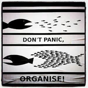 Get organised, dont panic
