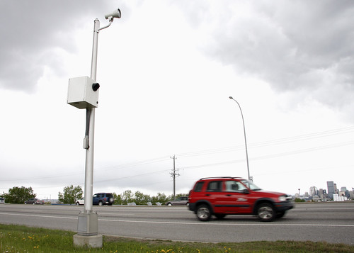 The City of Calgary - Speed on green and red light cameras