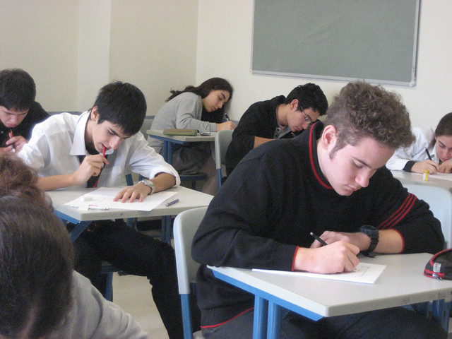 Students Taking Quiz