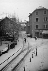 Sous la neige - Photo of Chirens