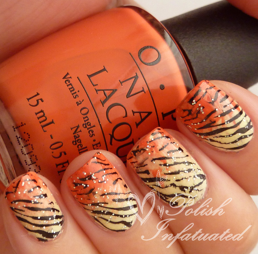 tiger nails!2