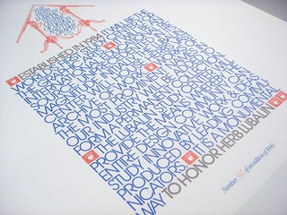 Lubalin poster set, print #1: Lubalin Center poster