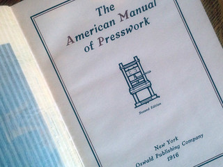 The American Manual of Presswork book