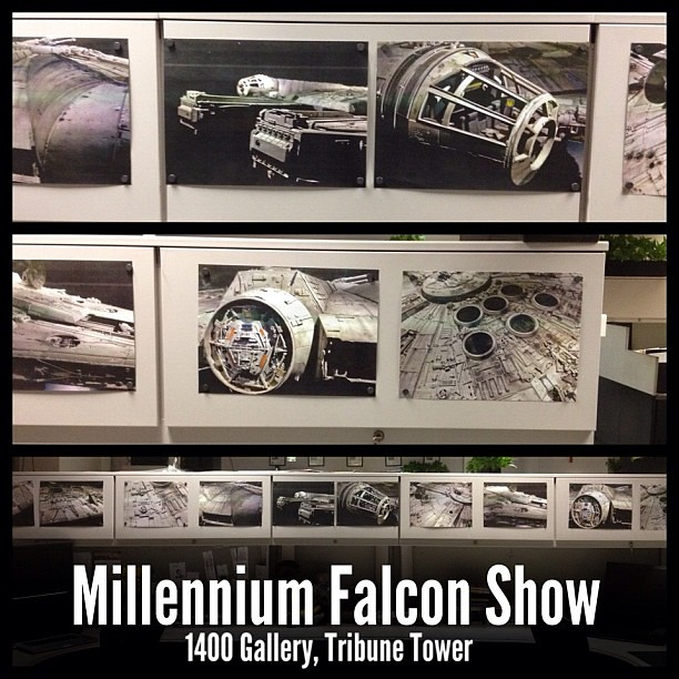 Millennium Falcon, 1400 Gallery, Tribune Tower