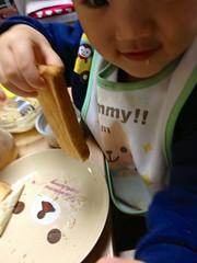 朝御飯トースト 2012/12/10