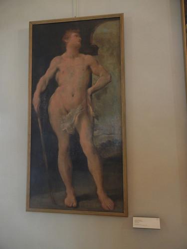 DSCN4724 _ Figure virile, Pietro Facciai (?), Palazzo D'Accursio (Palazzo Comunale), Bologna, 18 October