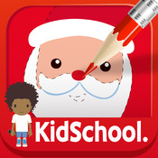 Karo Design, Caroline Huet - Kidschool - mes premiers coloriages de Noël