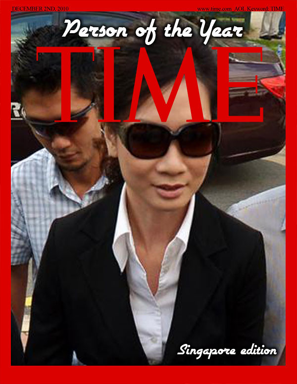 Cecilia Sue Siew Nang - Person of the Year 2012 - Winner