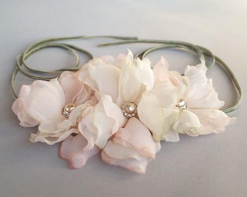 Emici Bridal blush headband