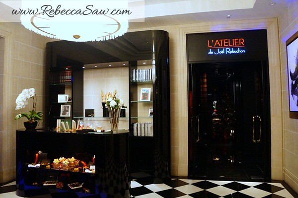 L'Aterier De Joel Robuchon Singapore - Rebecca Saw Blog