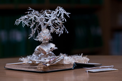 Paper Sculpture no 17 - unveiling