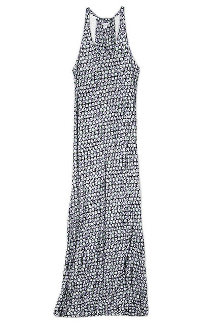 DvF patterned maxi dress