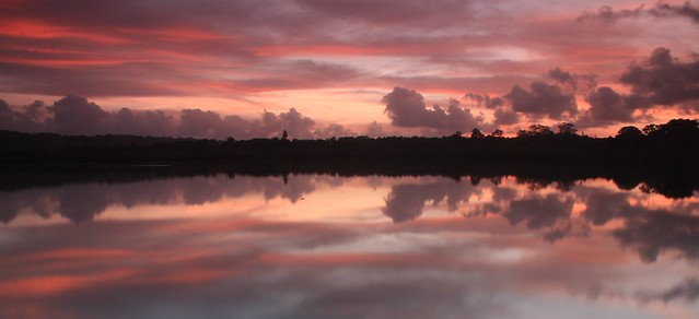 Sunrise over Erakor Lagoon - Vanuatu