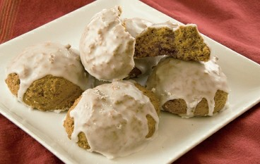 Orange Vegan Cookies