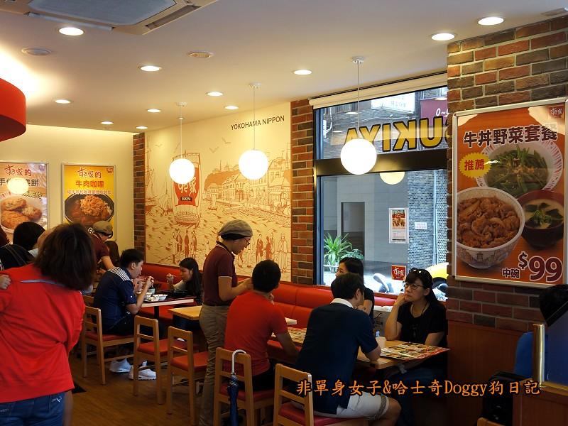 Sukiya日本牛丼咖哩飯11