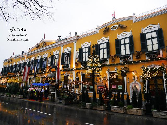 奧地利維也納餐廳推薦Marchfelderhof restaurant紅頂商人 (1)