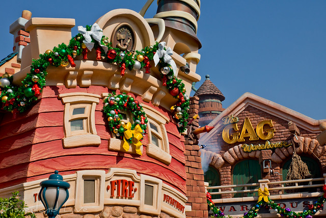 Toon Town Christmas Decor - 2012