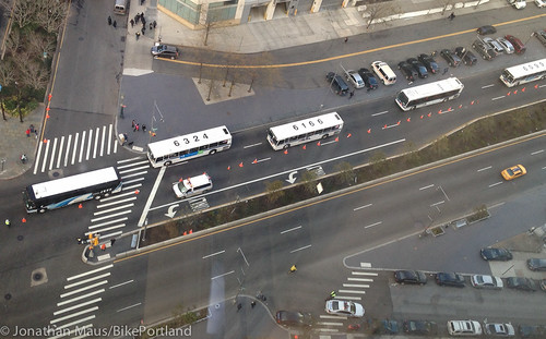 emergency bus rapid transit on Flatbush