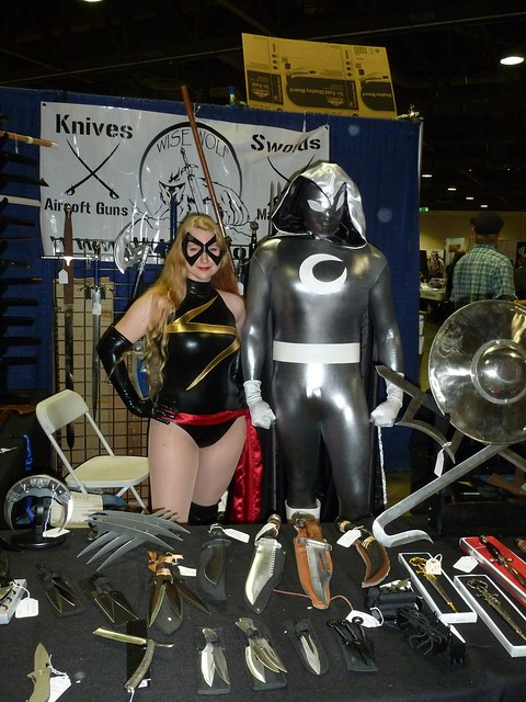 Ms. Marvel, Moon Knight and Knives