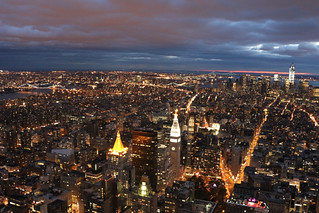 Everything is illuminated - Manhattan has power again