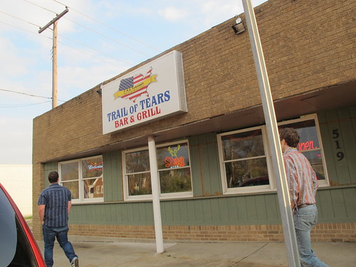 """Trail of Tears"" Bar and Grill"