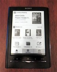 Gaye's Sony eBook Reader