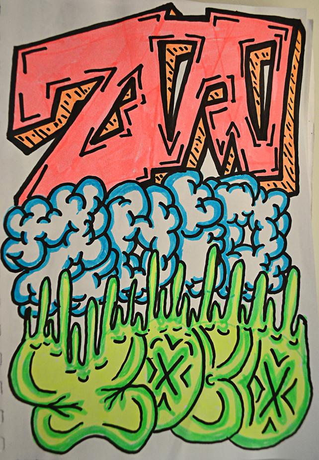 Zoio - Marker Sketch