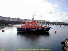 Irish Harbours.- Portrush in County Antrim, Northern Ireland .. 2007.