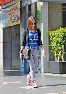 Anna Kendrick Converse Celebrity Style Women's Fashion