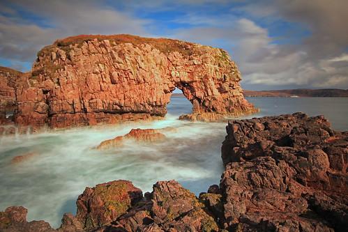 The Wee Arch, Loch Ewe.