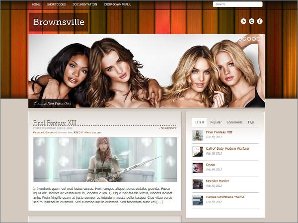 Brownsville Free WordPress Theme