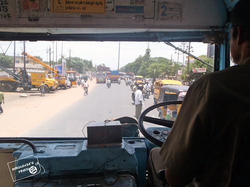 Bus sur de India