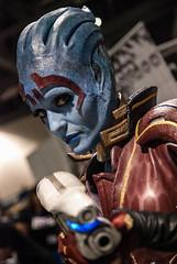 Samara, a Asari from Mass Effect